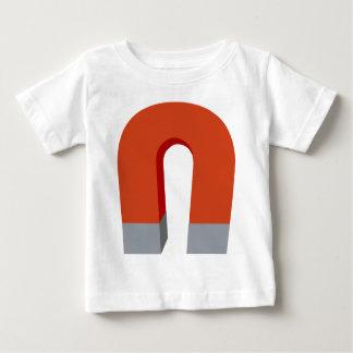 Horseshoe Magnet Baby T-Shirt