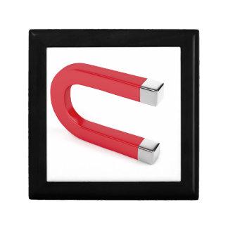 Horseshoe magnet gift box