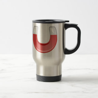 Horseshoe Magnet Travel Mug