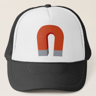 Horseshoe Magnet Trucker Hat