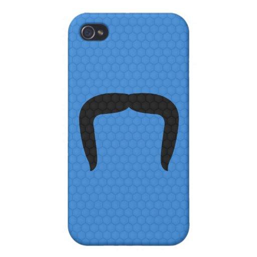 Horseshoe Mustache iPhone 4/4S Cases