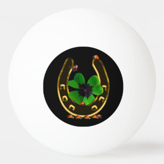 Horseshoe Ping Pong Ball