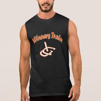 HorseShoe Pitching Sleeveless T...Winners Train Sleeveless Shirt