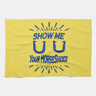 HorseShoe Pitching  Towel