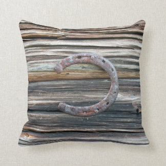 Horseshoe Throw Pillow