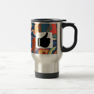 Horseshoe Thumbs Up Travel Mug