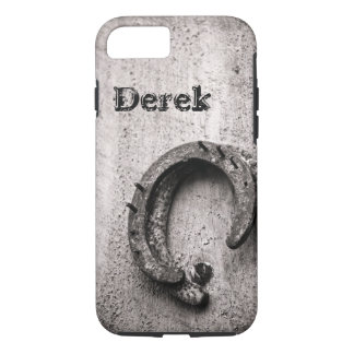 Horseshoe Vintage Western Sepia Photograph iPhone 8/7 Case