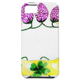 Horseshoe with Clover iPhone 5 Cover
