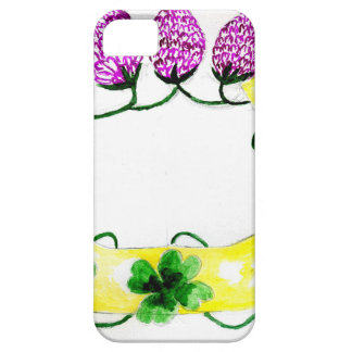 Horseshoe with Clover iPhone 5 Covers