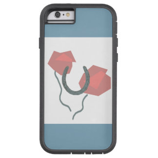 Horseshoes and Flowers phone case