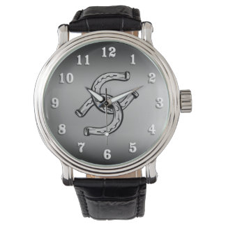 Horseshoes on Silver Gradient Watches