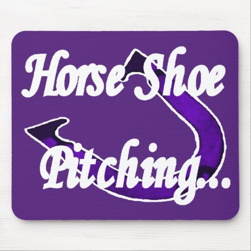 Horseshoes Quality Mousepad