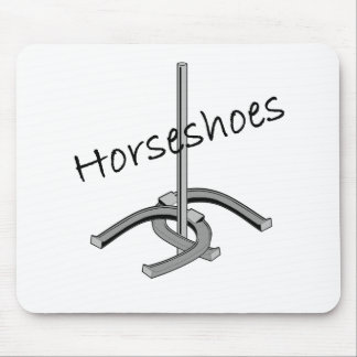 Horseshoes T-shirts and Gifts. Mouse Pad