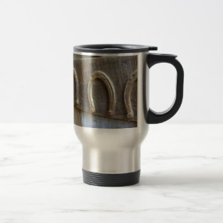 Horseshoes Travel Mug