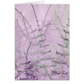 Horsetail Grass/Stems Card