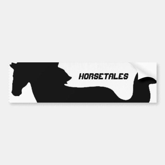 HorseTales Bumper Sticker
