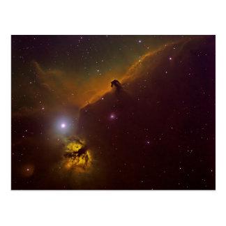 Horshead Nebula Postcard