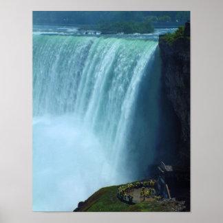Horshoe Falls Portrait 11x14 Poster