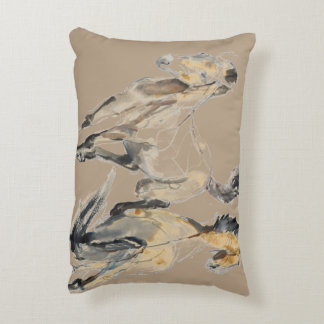 Horsing 2013 decorative pillow