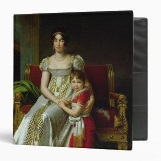Hortense de Beauharnais and her Son Vinyl Binder