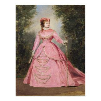 Hortense Schneider  1868 Postcard