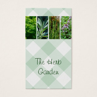 Horticultural herbs business card