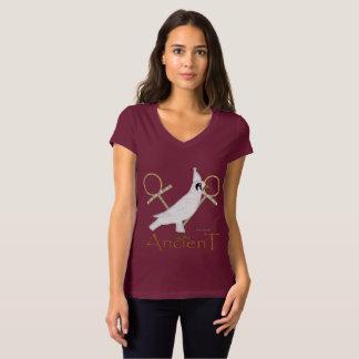 Horus Ancient Ladies Jersey V-Neck T-Shirt