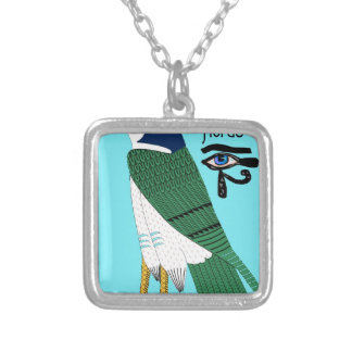 Horus Silver Plated Necklace