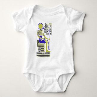 Horus the Hawk Egyption Heiroglyph Baby Bodysuit