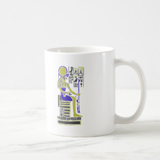 Horus the Hawk Egyption Heiroglyph Coffee Mug