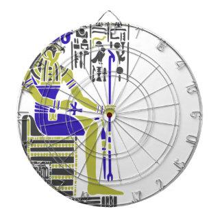 Horus the Hawk Egyption Heiroglyph Dartboard