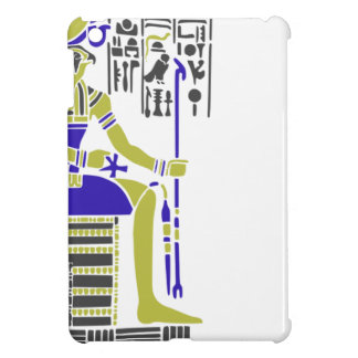 Horus the Hawk Egyption Heiroglyph iPad Mini Case