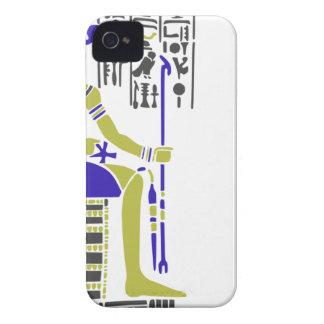 Horus the Hawk Egyption Heiroglyph iPhone 4 Cover