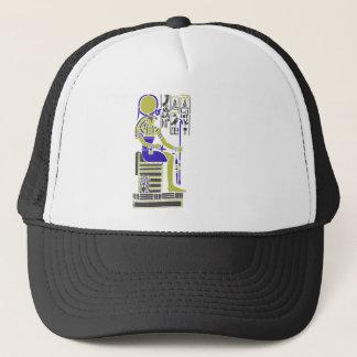 Horus the Hawk Egyption Heiroglyph Trucker Hat