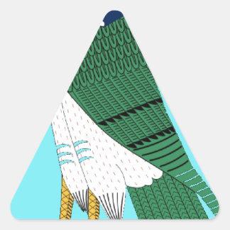 Horus Triangle Sticker