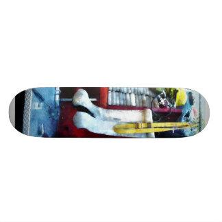 Hoses in Fire Truck Skateboard Deck