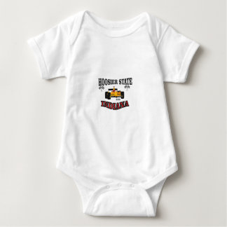hosier state art baby bodysuit