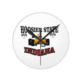 hosier state art round clock