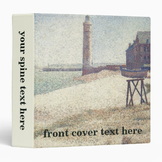 Hospice and Lighthouse, Honfleur by Georges Seurat Vinyl Binders