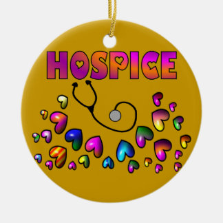 HOSPICE HEARTS Christmas Ornament
