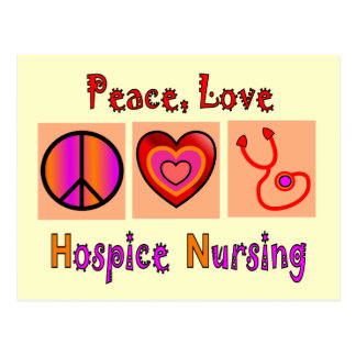 Hospice Nurse Gifts Post Card