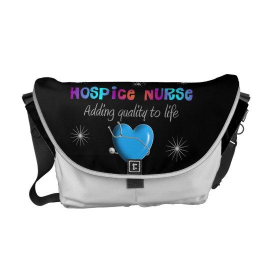 Hospice Nurse Rickshaw Messenger Bag