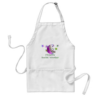 Hospice Social Worker Adult Apron