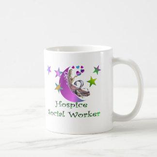 Hospice Social Worker Classic White Coffee Mug