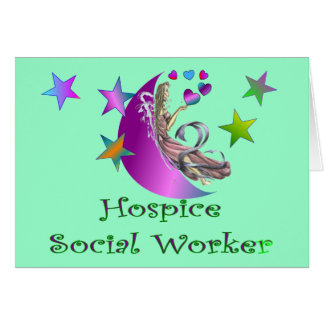 Hospice Social Worker Greeting Card