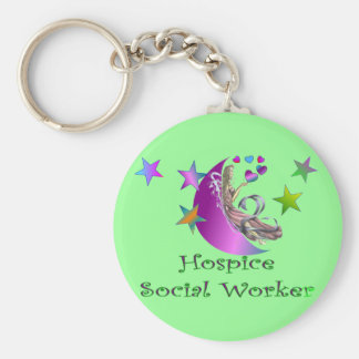 Hospice Social Worker Keychain