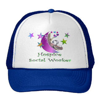 Hospice Social Worker Mesh Hats