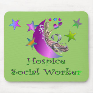 Hospice Social Worker Mousepad