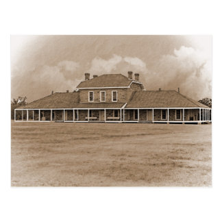Hospital at Ft. Richardson Texas Postcard