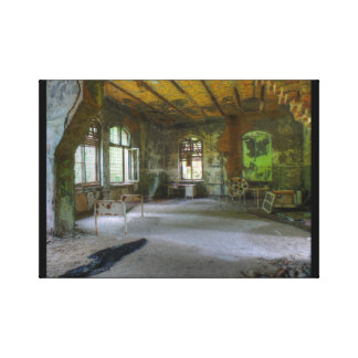 Hospital Beelitz 02.0, Lost Places Canvas Print